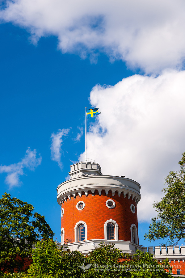 Sweden, Stockholm. Kastellholmen castle, Kastellet.