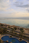 A view of the Dead Sea from Hotel Moriah