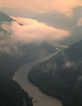 First light, New River Gorge National River