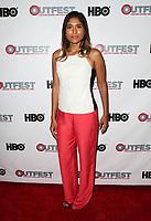 "11 July 2017 - West Hollywood, California - Anisha Adusumilli. ""Hello Again"" 2017 Outfest Los Angeles LGBT Film Festival Screening. Photo Credit: F. Sadou/AdMedia"