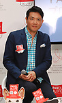 "May 22, 2018, Tokyo, Japan - Japanese actor Tetsuya Bessho announces TV personality Christel Takigawa's animal welfare group ""Christel Vie Essemble Foundation"" will start the new project ""Panel for Life"" to reduce euthanasia of dogs and cats in Tokyo on Tuesday, May 22, 2018. Japan's Princess Tsuguko of Takamado also attended the event.   (Photo by Yoshio Tsunoda/AFLO) LWX -ytd-"