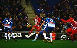 Torres, RCD Espanyol 1 v 0 Atletico de Madrid, RCDE Stadium, Barcelona. La Liga Santander 2017/2018, Jornada 17. Photo Martin Seras Lima