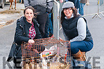 Ballyduff Horse Fair : Pictured at Ballyduff horse fair on Sunday last were Claire Bradley, Kilflynn & Rose Byrne, Traalee