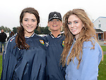 Lauren Scott, Maria and Jessica McCabe pictured at St Mary's GFC family fun day. Photo:Colin Bell/pressphotos.ie