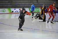 SCHAATSEN: CALGARY: Olympic Oval, 08-11-2013, Essent ISU World Cup, 500m, Alexandre St-Jean (CAN), ©foto Martin de Jong