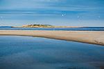 Fox Island off Popham Beach State Park in Popham Beach, Maine, USA