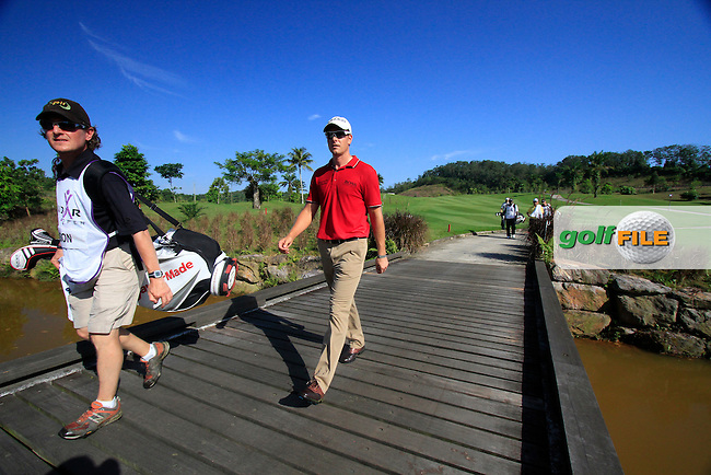 Henrik Stenson (SWE) crosses the footbridge to the 14th green during Thursday's Round 1 of the 2011 Iskandar Johor Open, Horizon Hills Golf Club, Johor, Malaysia, 15th November 2011 (Photo Eoin Clarke/www.golffile.ie)