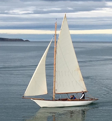 Marguerite was originally built in 1896 in Malahide by Jack Wellington to a Herbert Boyd design