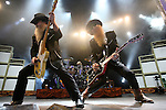 ZZ Top  performs at the Sommet Center in Nashville, Tennessee on Wednesday, August 1, 2007. (Photo by Frederick Breedon)