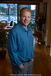 Business Portraits in the home of Brian Walch.