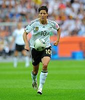 Linda Bresonik of Germany during the FIFA Women's World Cup at the FIFA Stadium in Berlin, Germany on June 26th, 2011.