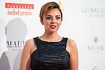 Chenoa attends to the photocall of the Global Gift Gala at Cibeles Palace in Madrid. April 02, 2016. (ALTERPHOTOS/Borja B.Hojas)