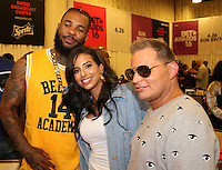 LOS ANGELES, CA - JUNE 24, 2016  The Game, Nessa & Scott Storch attends the BET Awards Remote Radio Room Day 1 at The JW Marriot in Los Angeles, CA. Photo Credit: Walik Goshorn / Media Punch