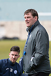 St Johnstone Training&hellip;04.05.18<br />Manager Tommy Wright pictured during training this morning at McDiarmid Park<br />Picture by Graeme Hart.<br />Copyright Perthshire Picture Agency<br />Tel: 01738 623350  Mobile: 07990 594431