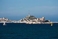 Europe/France/Provence-Alpes-Côte d'Azur/13/Bouches-du-Rhône/Marseille: le et Fort d'If