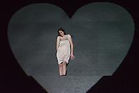 Berlin, Schauspielerin Constanze Becker in der Rolle der Medea am Freitag (03.05.13) bei einer Probe zum Theaterstück Medea unter der Regie von Michael Thalheimer in Berlin zur Veranstaltung 50 Jahre Theatertreffen.