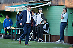FK Trakai v St Johnstone&hellip;06.07.17&hellip; Europa League 1st Qualifying Round 2nd Leg, Vilnius, Lithuania.<br />Tommy Wright leaves the dugout at full time<br />Picture by Graeme Hart.<br />Copyright Perthshire Picture Agency<br />Tel: 01738 623350  Mobile: 07990 594431