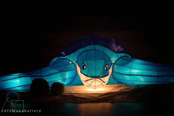 Chinese Lantern Festival, to celebrate Chinese Lunar New Year - Giant Leatherback Turtle, Trinidad