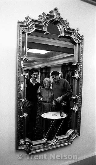 Lafayette Langeac promo shot in mirror<br />