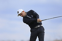 Keith Egan (Carton House) during the first round of matchplay at the 2018 West of Ireland, in Co Sligo Golf Club, Rosses Point, Sligo, Co Sligo, Ireland. 01/04/2018.<br /> Picture: Golffile | Fran Caffrey<br /> <br /> <br /> All photo usage must carry mandatory copyright credit (&copy; Golffile | Fran Caffrey)
