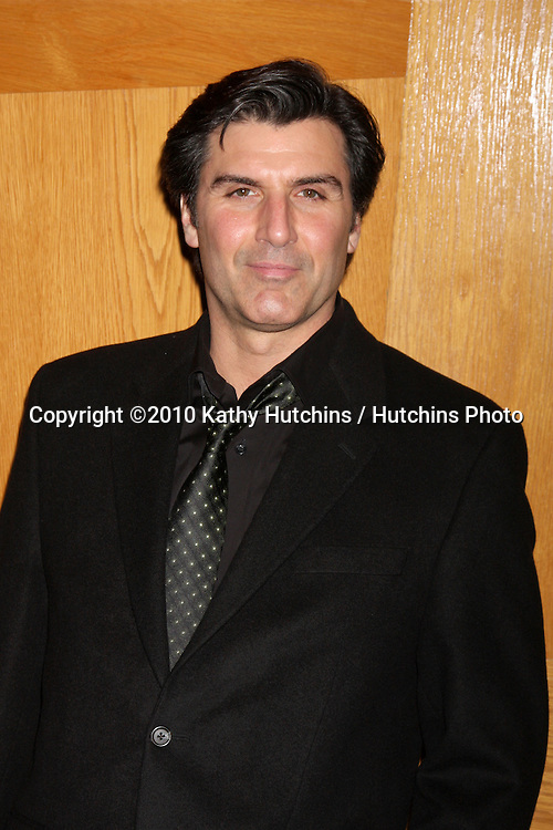 "Vincent Irizarry.Soap Fan Mystery Theatre Presents a Staged Reading of Agatha Christie's The ""Unexpected Guest"".Writers Guild of America Theater.Beverly Hills, CA.February 20, 2010.©2010 Kathy Hutchins / Hutchins Photo...."