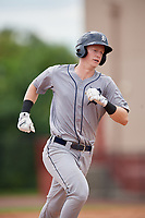 GCL Tigers West Jimmy Kerr (18) rounds the bases after hitting a home run during a Gulf Coast League game against the GCL Phillies West on July 27, 2019 at the Carpenter Complex in Clearwater, Florida.  (Mike Janes/Four Seam Images)