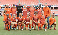 Houston, TX - Sunday August 05, 2018: Houston Dash vs Utah Royals FC at BBVA Compass Stadium.
