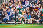 19 October 2013: University of Vermont Catamount Forward Daniel Kuczynski, a Junior from Toronto, Ontario, in action against the University at Albany Great Danes at Virtue Field in Burlington, Vermont. The Catamounts defeated the visiting Danes 2-1. Mandatory Credit: Ed Wolfstein Photo *** RAW (NEF) Image File Available ***