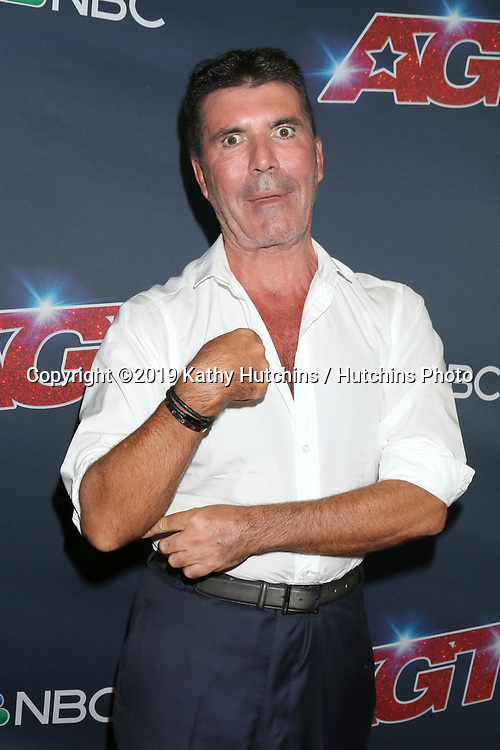 """LOS ANGELES - SEP 18:  Simon Cowell at the """"America's Got Talent"""" Season 14 Finale Red Carpet at the Dolby Theater on September 18, 2019 in Los Angeles, CA"""
