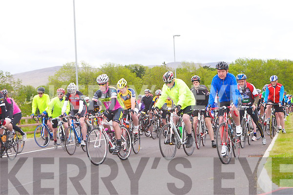 KINGDOM ALLIANCE SPORTIVE: The start of the Kingdom Alliance Sportive at the Tralee Bay Wetlands Centre on Saturday.