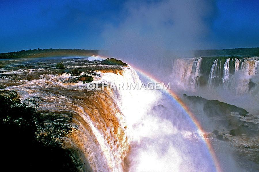 Cataratas do Iguaçu no Parque Nacional do Iguaçu. Foto Thais Falcão.