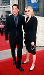 Rob Lowe with wife Sheryl Berkoff  at the NBC Primetime Preview at Lincoln Center in New York City on May 17th, 1999.