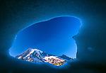 Ice cave, Mount Rainier, Washington
