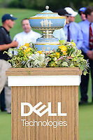 The Walter Hagen Cup awaits Dustin Johnson (USA) following  round 7 of the World Golf Championships, Dell Technologies Match Play, Austin Country Club, Austin, Texas, USA. 3/26/2017.<br /> Picture: Golffile | Ken Murray<br /> <br /> <br /> All photo usage must carry mandatory copyright credit (&copy; Golffile | Ken Murray)