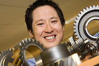 Andy Poon of Romax, Nottingham, winners of the Queen's Award for Enterprise