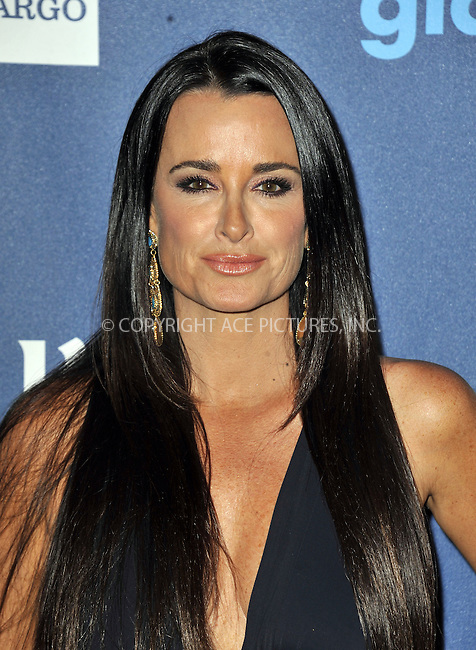 WWW.ACEPIXS.COM......April 20, 2013, Los Angeles, CA.....Kyle Richards arriving at the 24th Annual GLAAD Media Awards held at the JW Marriott Los Angeles at L.A. LIVE on April 20, 2013 in Los Angeles, California. ..........By Line: Peter West/ACE Pictures....ACE Pictures, Inc..Tel: 646 769 0430..Email: info@acepixs.com