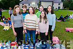 Open Air Cinema at the Killarney Gardens last Tuesday evening. Pictured are front l-r Niamh Coffey from Beaufort, Aeva Monk from Carragh Lake, Eimer Coffey from Beaufort, back l-r Conor Monk from Carragh Lake, Hannah Duffy from Killorglin and Roisin Hayes from Killorglin.