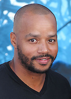 HOLLYWOOD, LOS ANGELES, CA, USA - MAY 28: Donald Faison at the World Premiere Of Disney's 'Maleficent' held at the El Capitan Theatre on May 28, 2014 in Hollywood, Los Angeles, California, United States. (Photo by Xavier Collin/Celebrity Monitor)