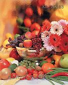 Interlitho, Alberto, STILL LIFES, photos, gerbera, fruit(KL16013,#I#) Stilleben, naturaleza muerta