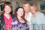 27. PICTURES 5767-5770..SMILES: Enjoying John B. Keanes play Big Maggie in St Johns Theatre, Listowel, on Sunday evening were Annette Buckley, Ballybunion, Kathryn OShea, Clonakilty, Rosemarie Bennis, Templeglantine, and Melanie McConnell, Melbourne, Australia..