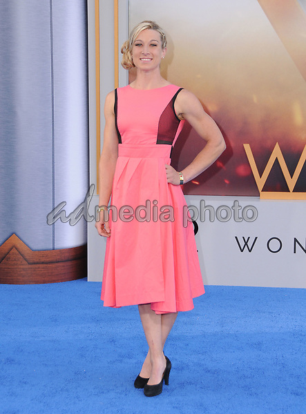 "25 May 2017 - Hollywood, California - Jessie Graff. World  Premiere of Warner Bros. Pictures'  ""Wonder Woman"" held at The Pantages Theater in Hollywood. Photo Credit: Birdie Thompson/AdMedia"