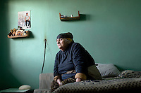 Internally Displaced Person (IDP) from the 1993 Abkhazia conflict. Many thousand Georgians are still housed in former hotel buildings. ..