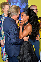 "LOS ANGELES, USA. October 15, 2019: Don Johnson & Regina King at the premiere of HBO's ""Watchmen"" at the Cinerama Dome, Hollywood.<br /> Picture: Paul Smith/Featureflash"