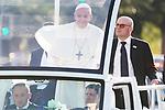 Política 2018 El Papa en Chile - PUC a Nunciatura