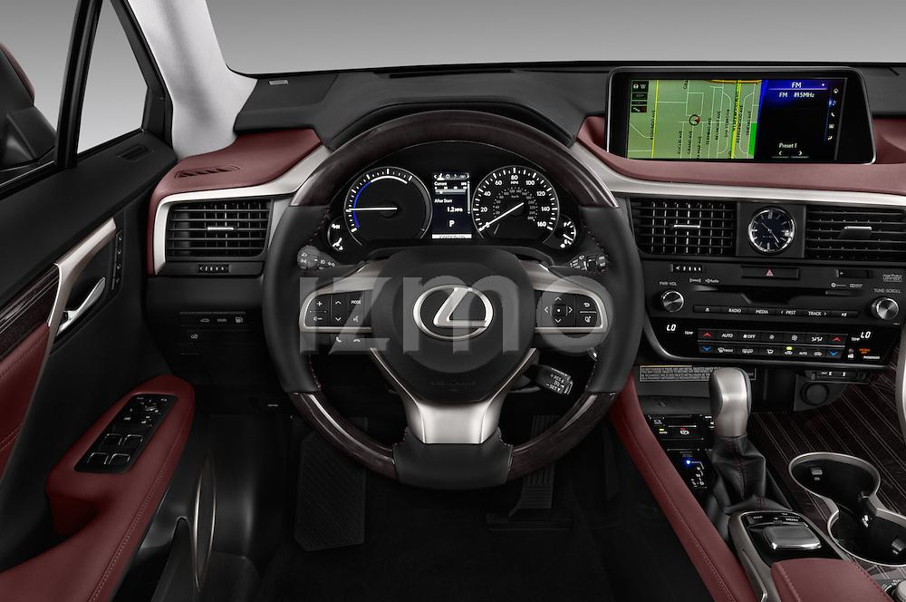 Car pictures of steering wheel view of a 2016 Lexus RX Privilege Line 5 Door Suv Steering Wheel