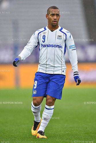 Ademilson (Gamba),<br /> FEBRUARY 20, 2016 - Football / Soccer :<br /> FUJI XEROX Super Cup 2016 match between Sanfrecce Hiroshima 3-1 Gamba Osaka at Nissan Stadium in Kanagawa, Japan. (Photo by AFLO)