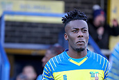 5th November 2017, Damson Park, Solihull, England; FA Cup first round, Solihull Moors versus Wycombe Wanderers; Akwasi Asante of Solihull Moors walking out of the club house