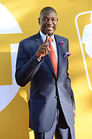 www.acepixs.com<br /> June 26, 2017  New York City<br /> <br /> Dikembe Mutombo attending the 2017 NBA Awards live on TNT on June 26, 2017 in New York City.<br /> <br /> Credit: Kristin Callahan/ACE Pictures<br /> <br /> <br /> Tel: 646 769 0430<br /> Email: info@acepixs.com