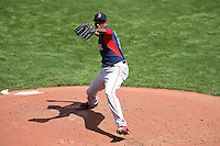 Boston Red Sox pitcher Alexi Ogando (23) during a Spring Training game against the Pittsburgh Pirates on March 12, 2015 at McKechnie Field in Bradenton, Florida.  Boston defeated Pittsburgh 5-1.  (Mike Janes/Four Seam Images)