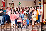 Friends, Family and well wishers got together on Friday night in The New Kingdom bar in Listowel to celebrate Councillor Tom Barry (SINN Féin) Re-election to the Kerry County Council.